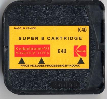 Mobile Entwicklung von Super8 K40 Film… ] – [SUPER8 LOG]